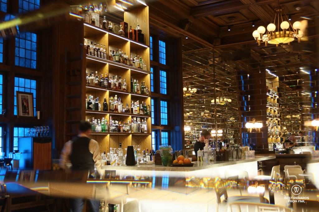 The bar of the hotel Bergen Bors, Bergen