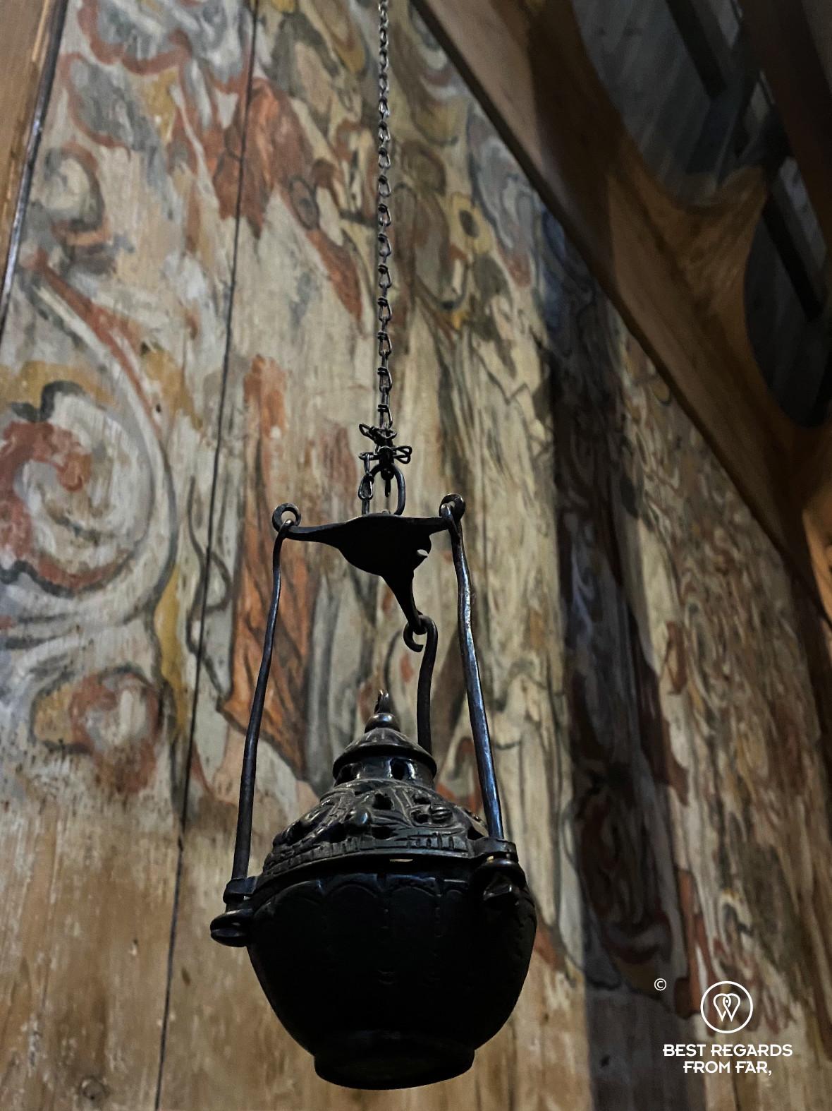 Incense burner, Heddal Stave Church