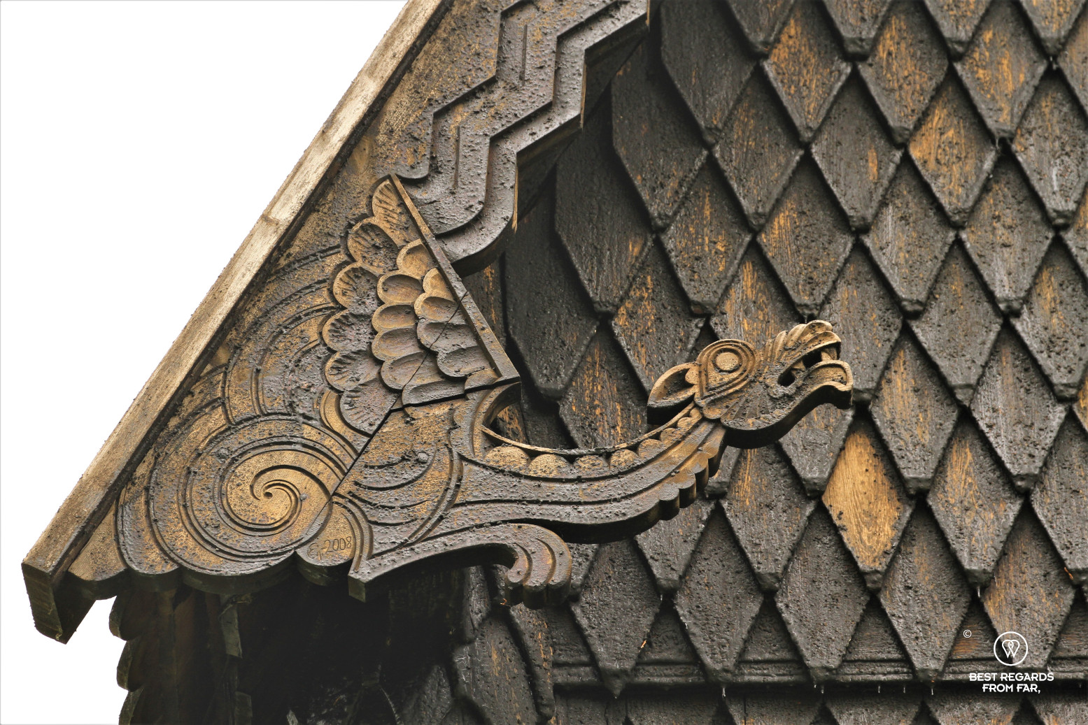 Carvings, Hopperstad Stave Church