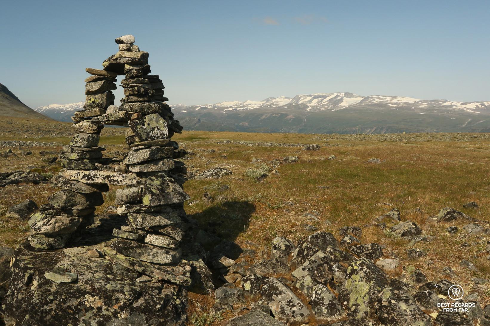 Arctic landscape in the Jotunheim NP